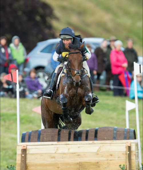 A photo of featured rider, Sarah Parkes
