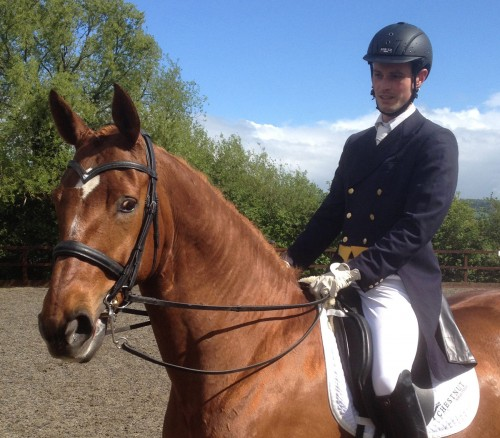 A photo of featured rider, Tom Graham