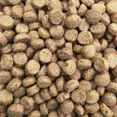 a photo of Chicken, Rice & Herbs dog food